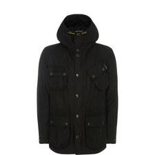 Fog Waxed Parka Jacket