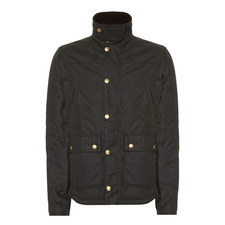 Reelin Waxed Zip-Through Jacket