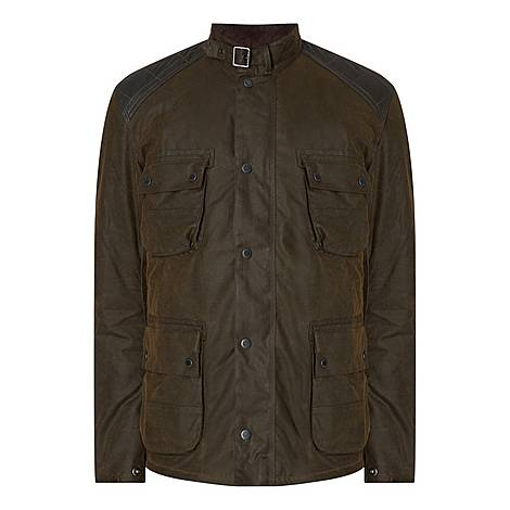 Weir Vintage Wax Jacket, ${color}