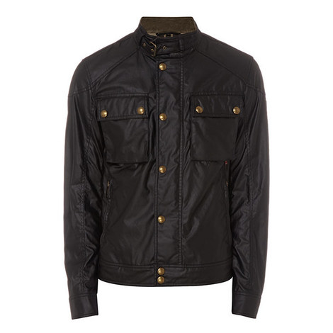 Racemaster Short Waxed Jacket, ${color}