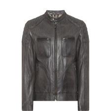 Leather Weybridge Jacket