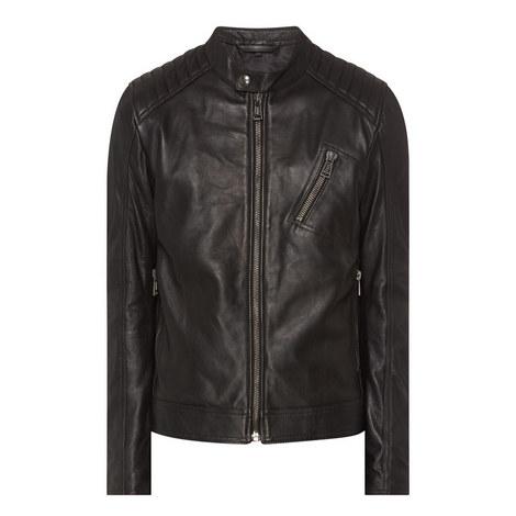 V Racer Leather Jacket, ${color}