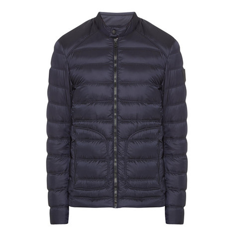 Halewood Quilted Puffa Jacket, ${color}