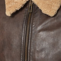 Mentmore Shearling Collar Jacket , ${color}