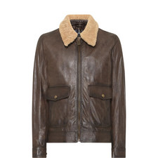 Mentmore Shearling Collar Jacket