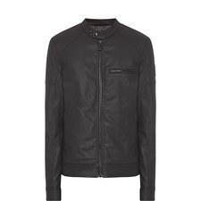 Beckford Denim Biker Jacket