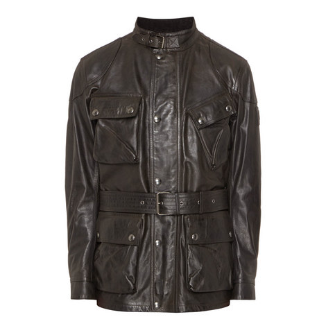 Panther Motorcycle Leather Jacket, ${color}