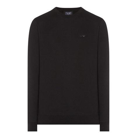 Crew Neck Jersey Sweatshirt, ${color}