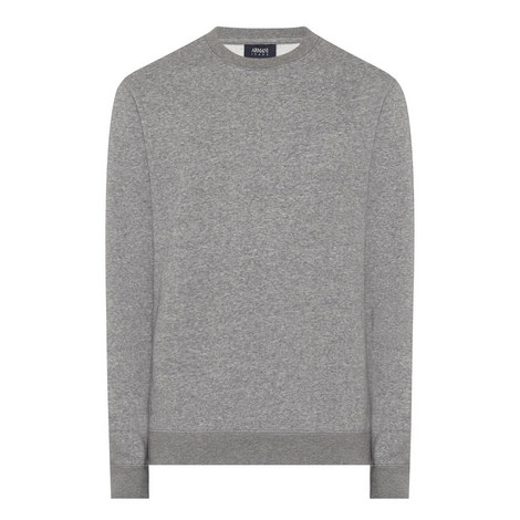 Crew Neck Jersey Sweatshirt, ${color}