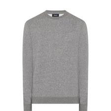 Crew Neck Jersey Sweatshirt