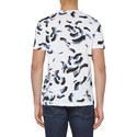 Jasney Print Crew Neck T-Shirt, ${color}
