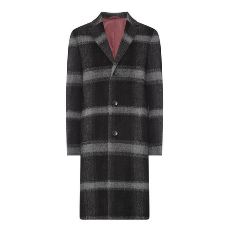 Calbers Check Overcoat, ${color}