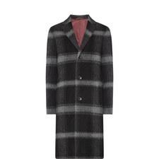 Calbers Check Overcoat