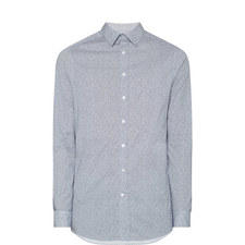 Micro-Square Print Shirt