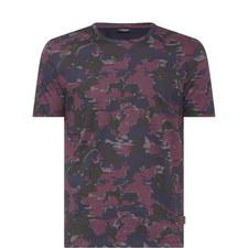 Jalam Camouflage Print T-Shirt