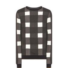 Kapsum Check Sweatshirt