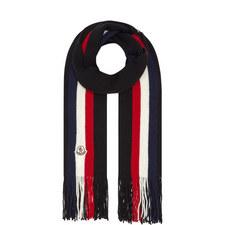 Stripe Virgin Wool Scarf