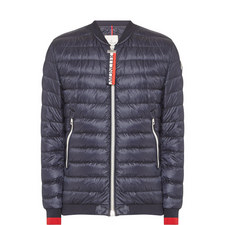 Daneb Quilted Bomber Jacket