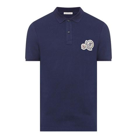 Double Logo Polo Shirt, ${color}