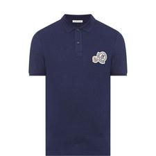 Double Logo Polo Shirt