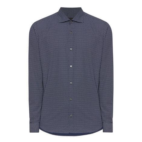 Gingham Print Shirt, ${color}