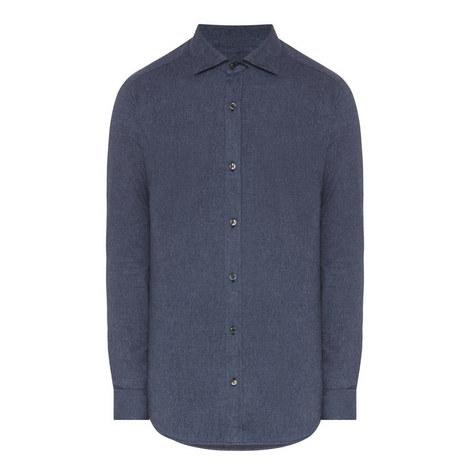 Melange Warm Touch Shirt, ${color}