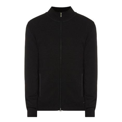 Wool Zip-Through Sweater, ${color}