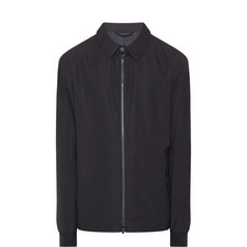 Simple Zipped Raincoat