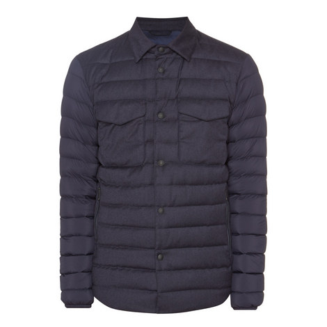 Quilted Down Jacket Navy, ${color}