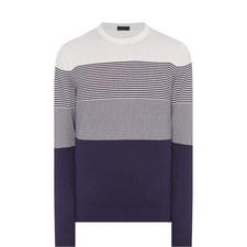 Breton Silk Crew Neck Sweater