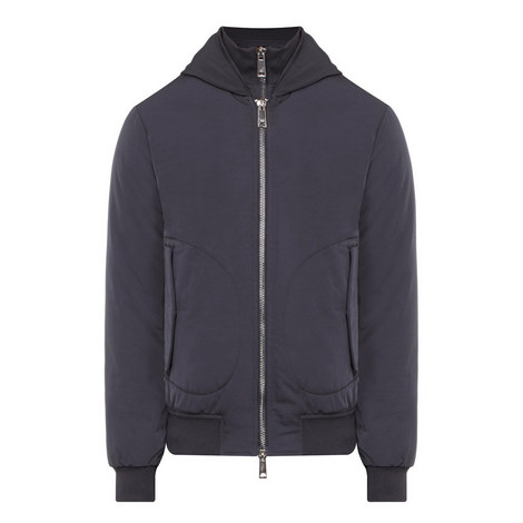Mock Layered Jacket, ${color}