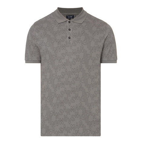 Logo Print Polo Shirt, ${color}