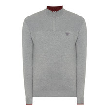Half Zip Wool Sweater
