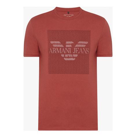 Logo Print T-shirt, ${color}