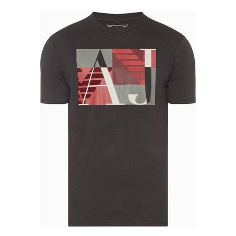 Flocked Logo T-Shirt, ${color}