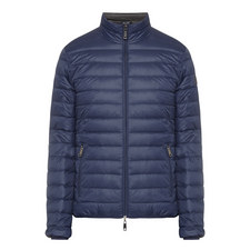 Zip-Through Quilted Jacket