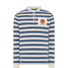 Rose Striped Rugby Shirt