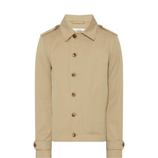 Asymmetrical Buttoned Jacket