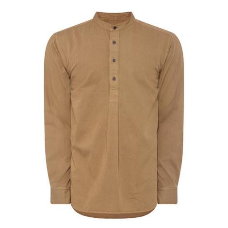 Charlwood Collarless Shirt, ${color}
