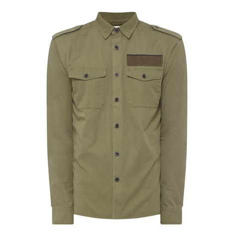 Tesher Military Shirt, ${color}