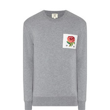 Flexford Rose Patch Sweatshirt