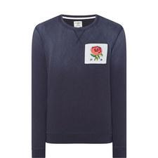 Rose Cotton Sweatshirt