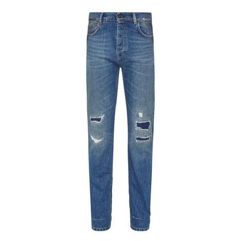 Tonbridge Ripped Denim Jeans, ${color}
