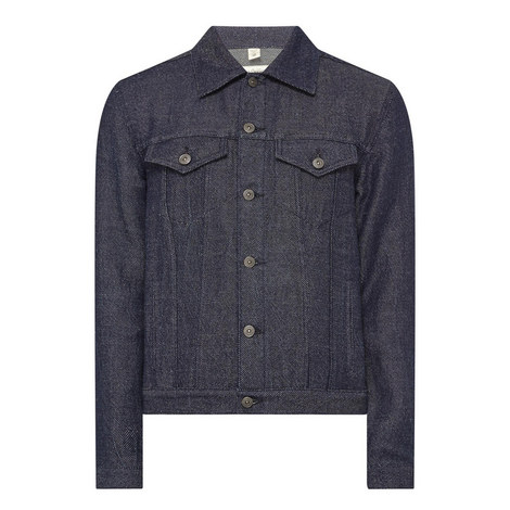 Hadlow Linen-Denim Jacket, ${color}