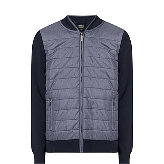 Baffle Quilted Sweater