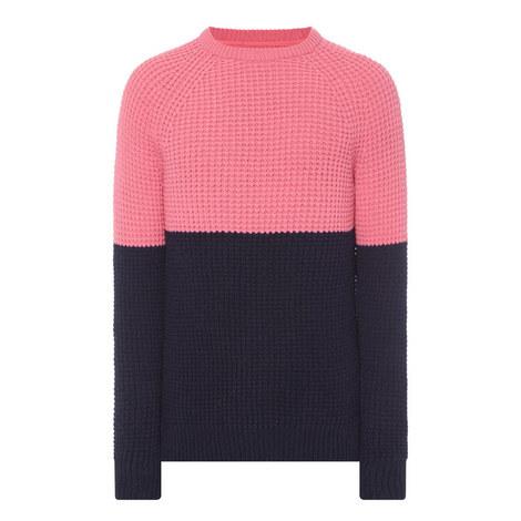 Barnes Block Knit Sweater, ${color}