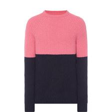 Barnes Block Knit Sweater