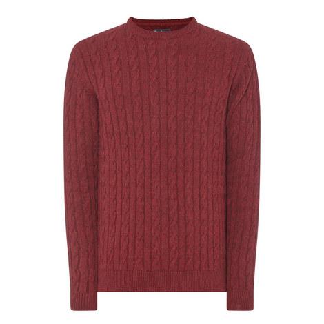 Sanda Cable-Knit Sweater, ${color}