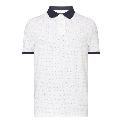 Polka Dot Polo Shirt, ${color}