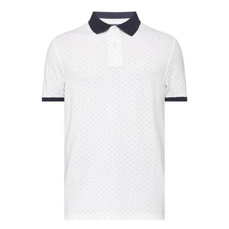 Polka Dot Polo Shirt, ${color}